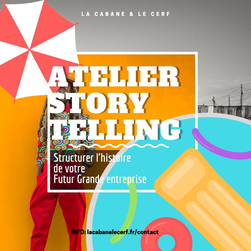 ATELIER DE STORYTELLING COMME A LA MAISON