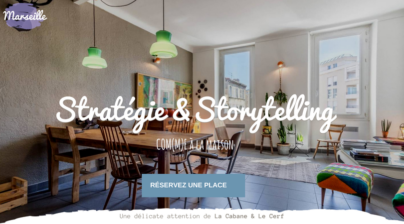 STORYTELLING & STRATEGIE A MARSEILLE